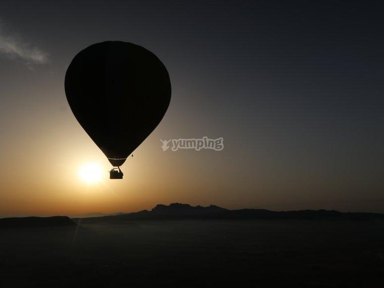 在地球上飞