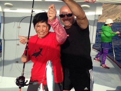 Salida de pesca en barco en Altea 3 horas