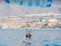 Actividad parascending y moto de agua en Tenerife