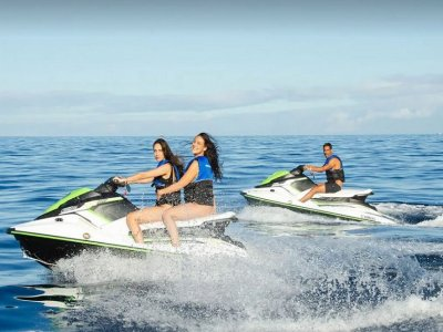 Parascending and jet ski Costa Adeje 1 hour