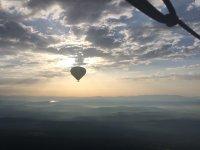 La Segarra 日出时的热气球飞行 1 小时