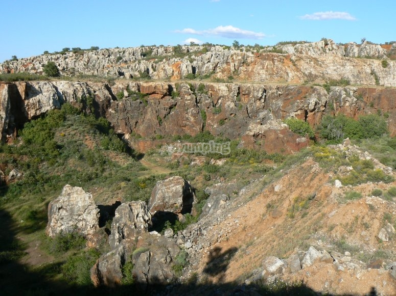 Panorámica de Sierra Morena