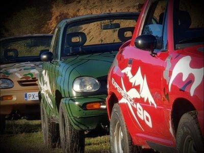 Conducir un 4x4 biplaza en Sierra Morena 2 horas