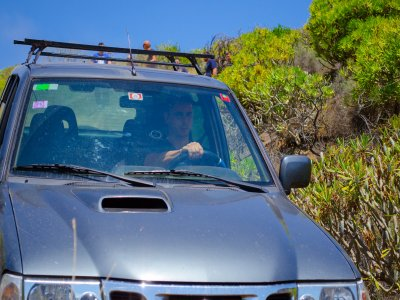 Conducir un todoterreno para 2 en Sierra Morena 3h