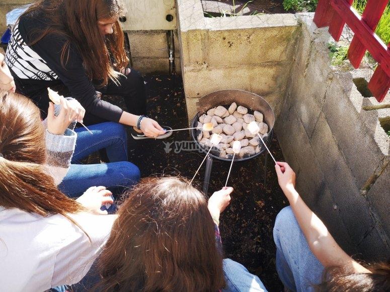 Cocinando gominolas