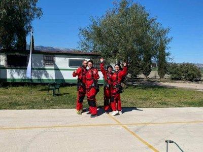 Saltar en paracaídas en pareja Requena