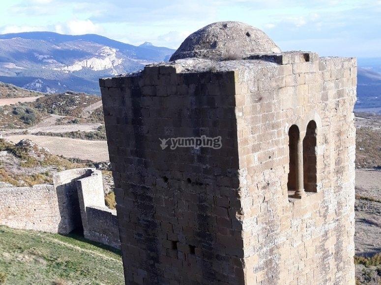Vista a la torre Albarrana