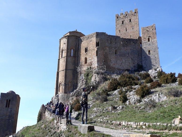 Foto del castillo de Loarre