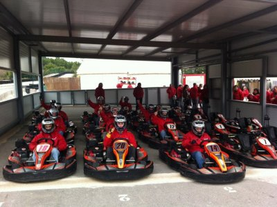 Karting & Paintball Castellolí Team Building