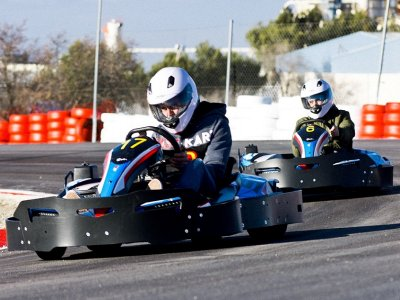 Adult karting in Chinchilla de Montearagón 10min