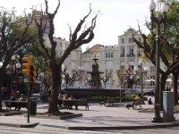 En la Plaza de Navarra