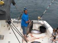 Dia productivo de pesca