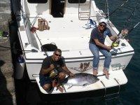 Pescando en compania