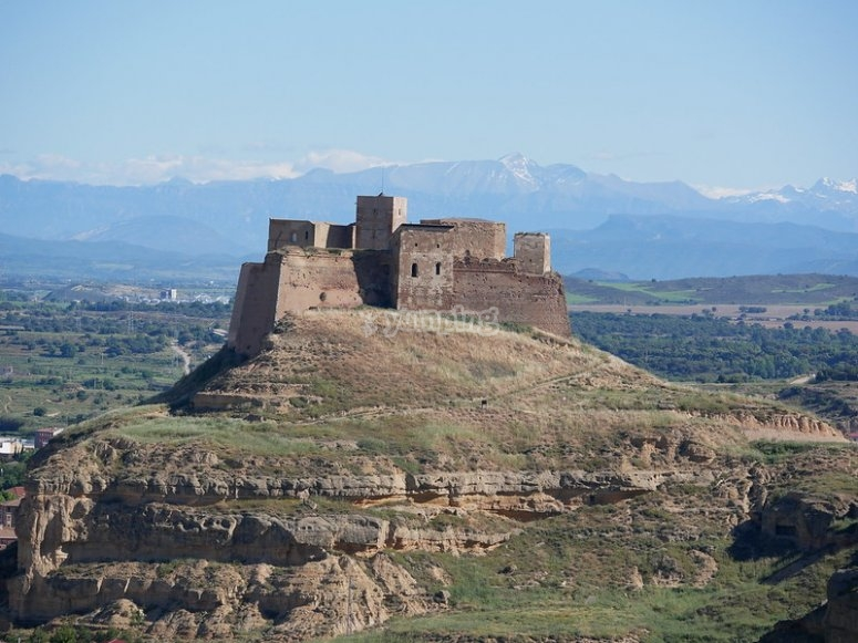 The Templar Castle of Monzón