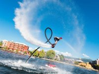 Con il flyboard a Malaga