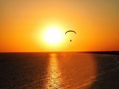Volo in paramotore sulla spiaggia di Palomares 15 min