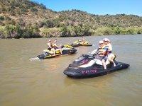 Ruta moto de agua por río Sanlúcar de Guadiana 1 h