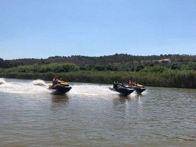 Moto de agua por el Guadiana hasta Mértola 1h 45m