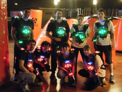 Laser Space Zaragoza Team Building