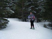 Raquetas de nieve en la Sierra de Madrid