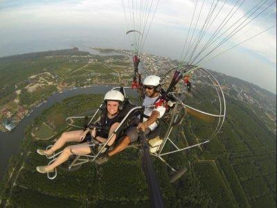 Volo in parapendio in tandem e foto Mojácar 30 min