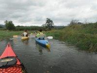 Canoeing down in Asturias