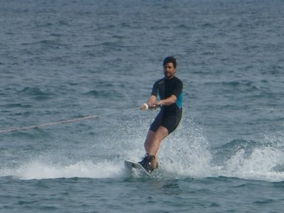 Wakeboarding on Malagueta beach 20 minutes