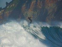 Surfing in Asturias