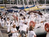 Regata de veleros para team building en Estartit