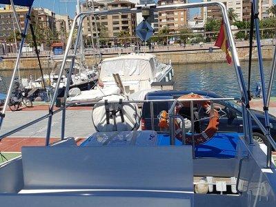 Paseo en barco y fondeo hasta Oropesa del Mar