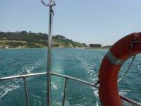 Excursión en barco en Asturias