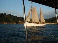 Paseo en barco en Asturias