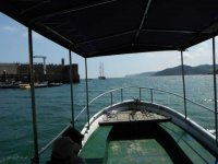 Sail in ship in asturias