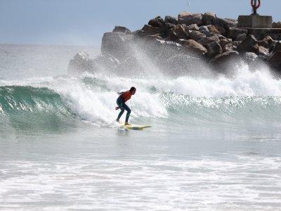 Corso di surf per principianti a Barreiros 10 h