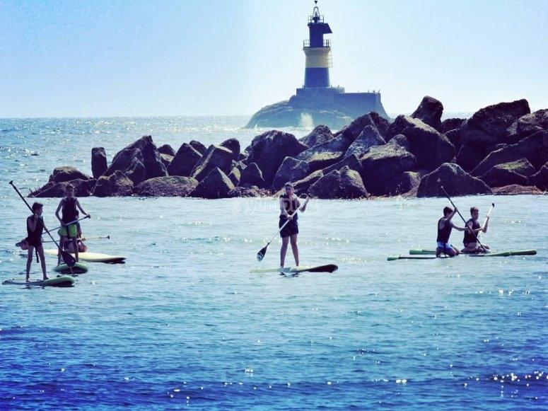 Escursione paddle surf a Barreiros