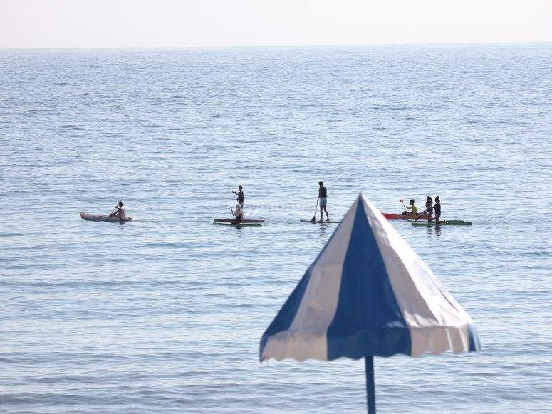 Percorso paddle surf a Foz