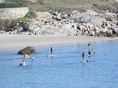 Lezione di paddle surf sulla costa di Barreiro 2 h