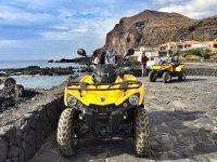 Descanso con los quads para ver el Atlantico