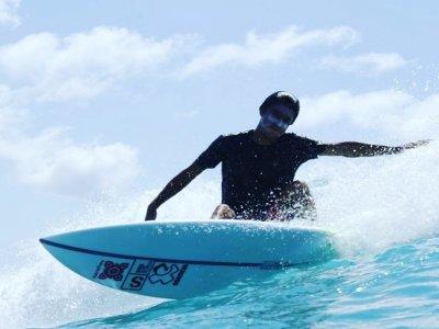 Curso de surf y material playa La Barrosa 5 días