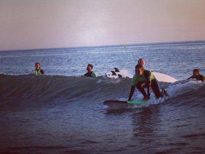 Clase de surf para grupos Chiclana de la Frontera