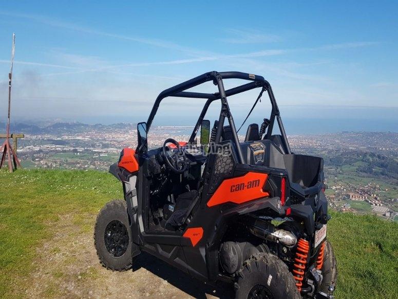 在Pico del Sol的越野车