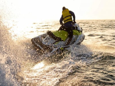 Percorso per moto d'acqua e percorso buggy a Gijón