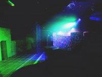 Escenario de laser indoor