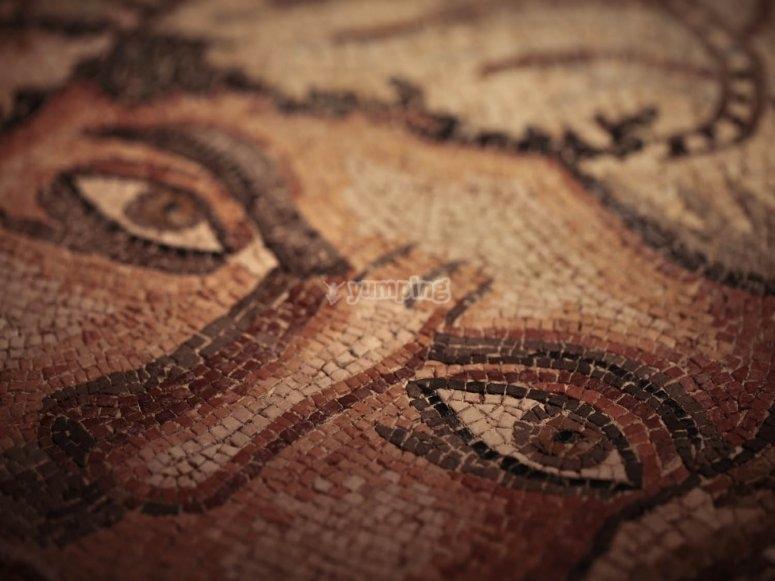 Mosaico de Baco
