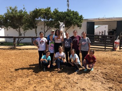 Equestrian camp half day in Chiclana 1 week