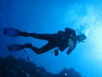 Clases de buceo en Ibiza