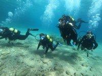 Curso de buceo Open Water Diver en Tossa de Mar