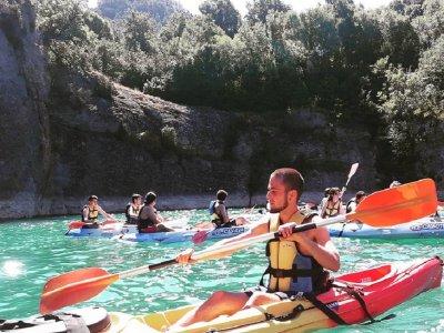 皮划艇导览游San Lorenzo de Morunys 3h