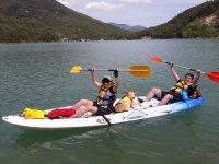Double kayak rental in La Llosa del Cavall 1h