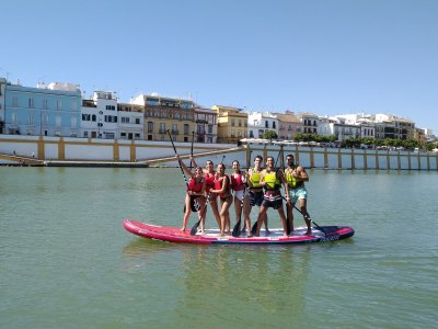 Big SUP route groups in the Guadalquivir 90 min